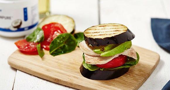 Hähnchen Avocado Burger | Low Carb Rezept