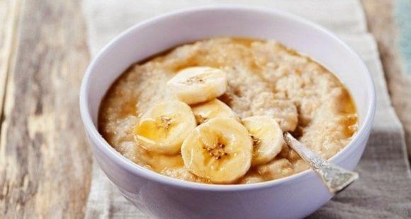 Rezept #4: Overnight Oats mit Erdnussbutter & Maca