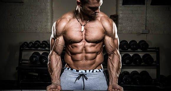 Bodybuilding-Diäten reinigen das Volumen