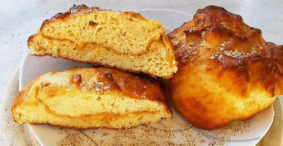 Süße Brötchen mit Erdnussbutterfüllung | Post-Workout Mahlzeit