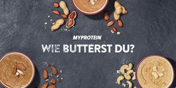 Cashew-, Erdnuss- & Mandelbutter | Nussbutter Infografik