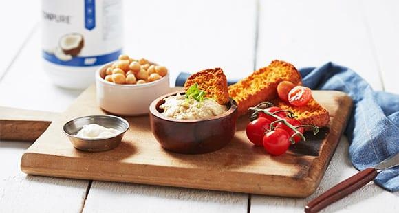 Selbstgemachter Hummus | Leichter Dip