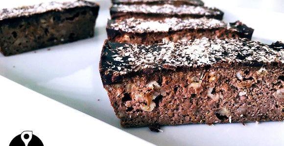 Schokoladen Flapjack | Hausgemachter Haferriegel
