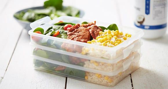 BBQ Hähnchen mit Reis | 15 Minuten Mealprep