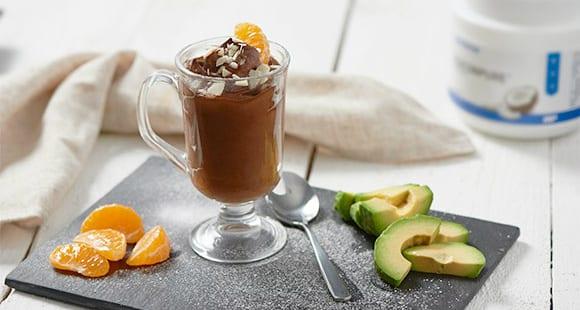 Schokoladiges Orangen Avocado Mousse | Paleo Dessert