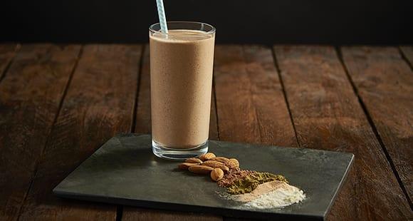 Mandel Kakao Protein Shake | Gesunde Rezepte mit Mandeln
