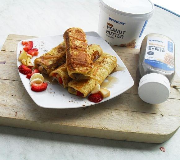 French Toast Röllchen   Schneller Snack