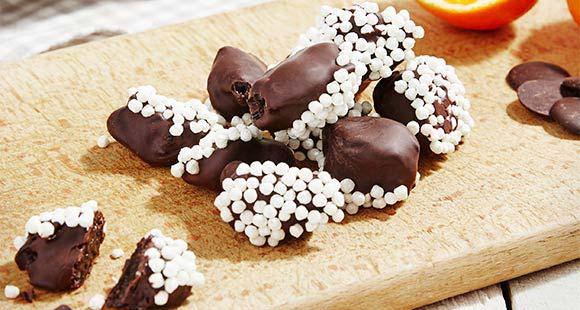 Gesunde Schokoladen-Orangen-Happen | Naschen ohne Reue