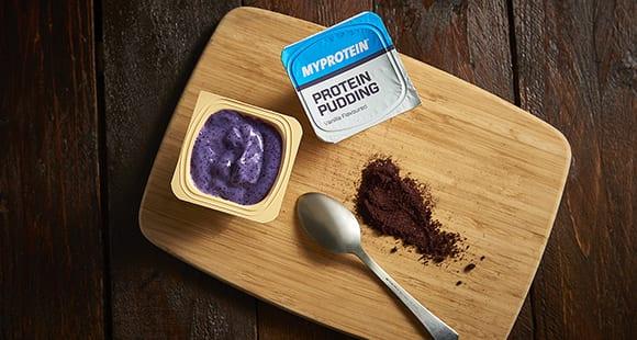 Fruchtiger Vanille Protein Pudding | Schnelle Snacks