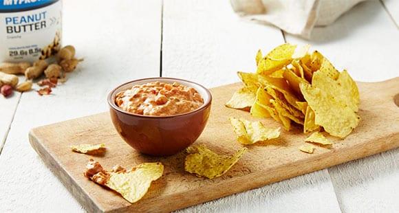 Erdnussbutter Salsa Dip | Gesunde Saucen & Dips