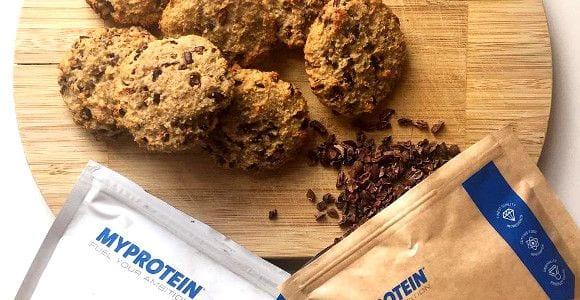 Proteinreiche Schokoladen Cookies | Fitness Kekse