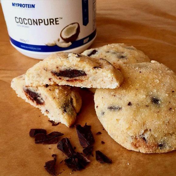 Kokos Cookies mit Schokoladenkern | Genießer Rezept