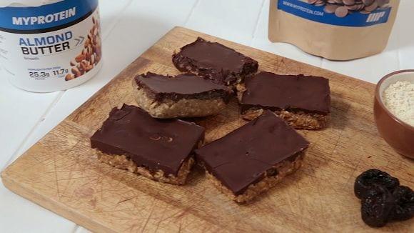 Schoko Butterkuchen ohne Backen | Gesundes Kakao Rezept