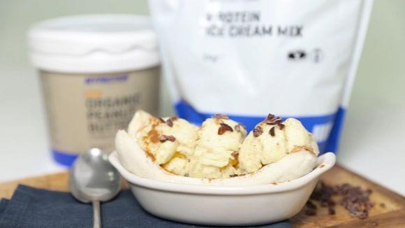Protein Banana Split | Gesundes Dessert Rezept