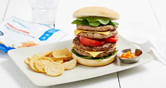 Cheeseburger Stack | Cheat Day Meal Rezept