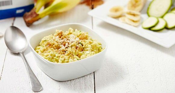 Gesunde Frühstücksidee | Bananen Zoats Rezept