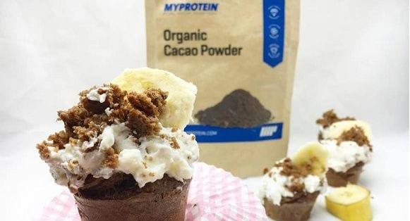 gesunde Maulwurfmuffins| proteinreich und zuckerfrei