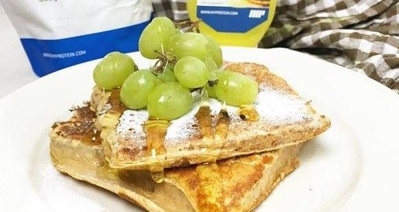 Protein-French Toast | Fettarmes Rezept
