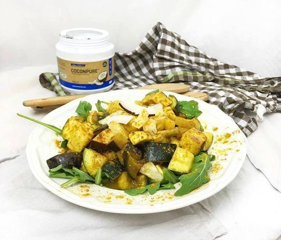 k-tofu curry