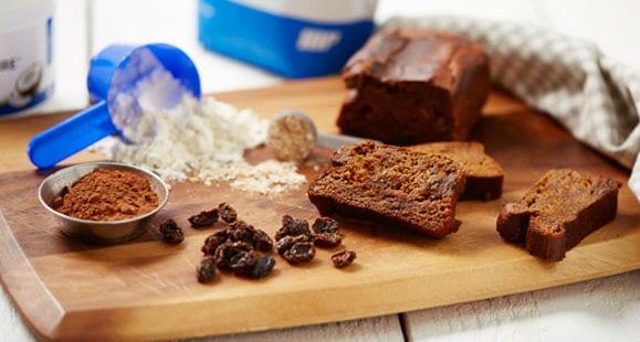 Schokoladen Protein-Kuchen | Gesundes Rezept