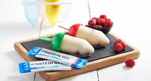 Sommer Snack | Protein-Eis am Stiel