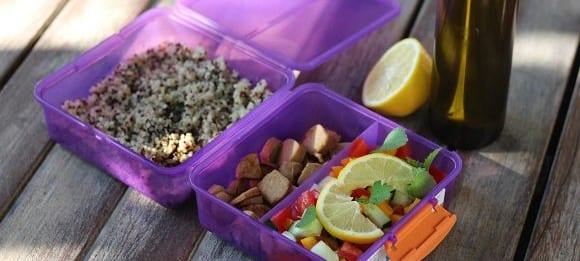 Quinoa-Salat | Gesunde Mahlzeit