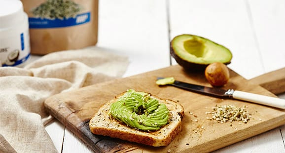 Avocado-Swirl-auf-Toast