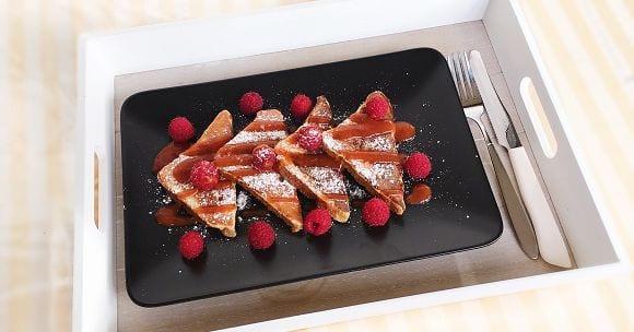 Fettarme French Toast | Gesundes und Einfaches Rezept!