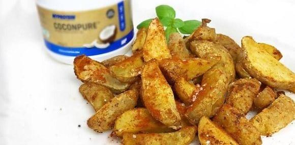 Gesundes Fast Food Rezept | Fettarme Kartoffel Wedges