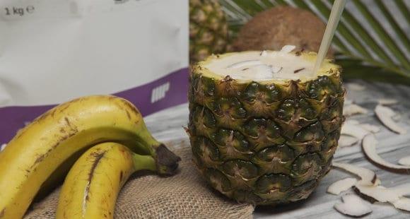 Protein Shake Rezept | Pina Colada