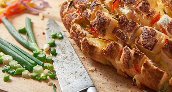 gesundes gefülltes Brot Rezept