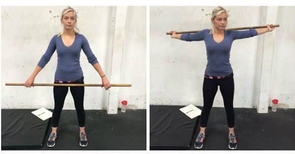 Übung #6 – Stick Rolls