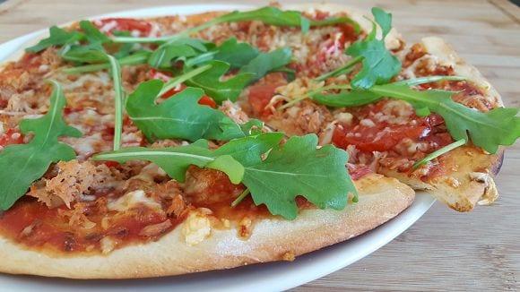 Gesundes Pizza Rezept