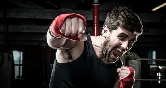 Wie geht es in einem Kampfstudio zu?