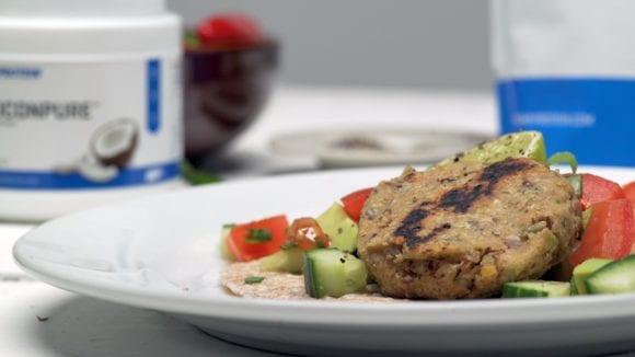 Gesunde Mahlzeit | Veganer Falafel | Myprotein Video Rezept