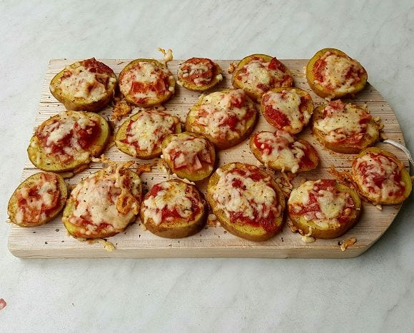 Fitness Rezepte | Kartoffel Pizza Snack Rezept