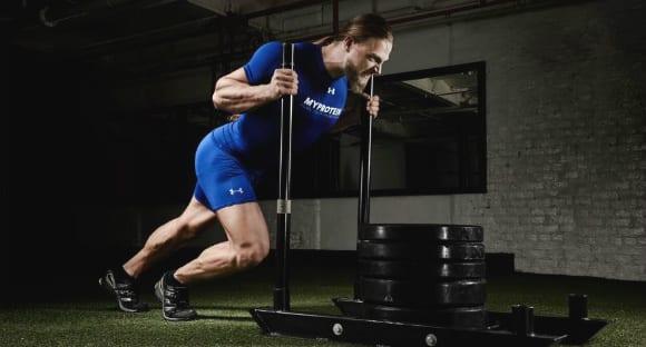 Der Prowler | Verbinde Push und Pull Übungen mit Schlitten ziehen