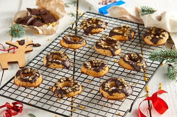 Weihnachts Rezept | Gesunde Protein Donuts