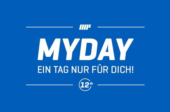 Der Myprotein MYDAY – Herzlich Willkommen