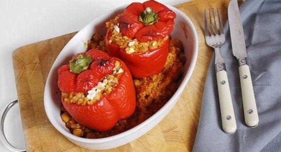 Gefüllte Paprikaschote | Gesunde Mahlzeit