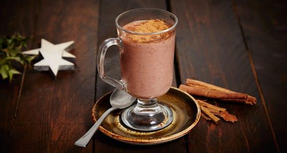 Gesunde Heiße Schokolade  | Fitness Getränk für kalte Tage