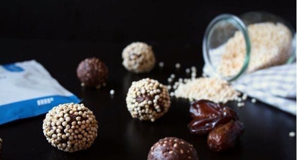 Gesunde Snacks | Quinoa Protein Energy Balls