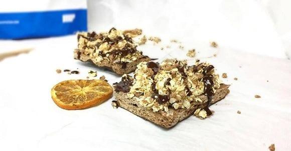 Zuckerfreie Rezepte | Gesunder Haselnuss Streuselkuchen