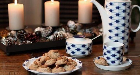 Einfache Weihnachtsplätzchen | Gesunde Mandel Makronen
