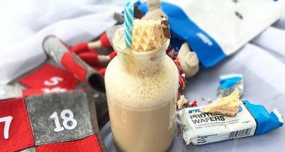 Frappucchino Caramel | Gesunder Karamel Frappuchino mit Proteinen