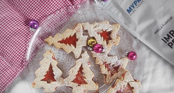 Plätzchen Rezepte Weihnachten | Vegane Spitzbuben zu Weihnachten