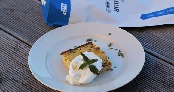 Gesunde Ernährung  | Hühnchenterrine mit Zitronen – Quarkcreme