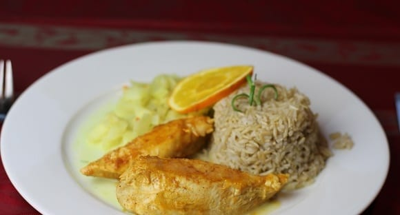 Gesunde Mahlzeit | Hähnchen in Honig-Senf Kruste