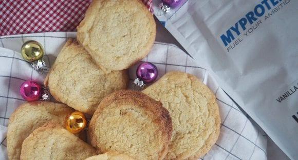 Gesunde Weihnachtskekse | Protein Heidesand-Plätzchen