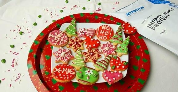 Gesunde Weihnachtskekse | Last Minute Protein Plätzchen